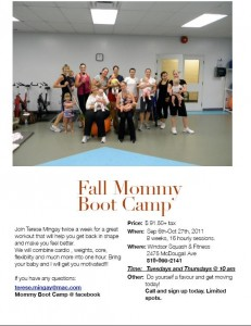 Fall Mommy Bootcamp