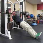 Horizontal Pull-Up - Finish