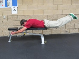 Lower Body Extension - Finish