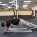Side Plank with Hug - Finish